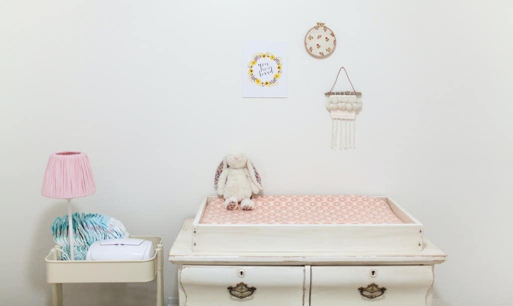 pokoj dziecka z przewijakiem